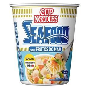 Macarrão Instantâneo Cup Noodles Frutos do Mar 69g