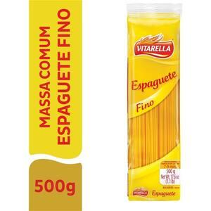 Macarrão Vitarella Espaguete Fino 500g