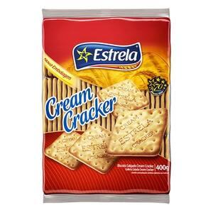 Biscoito Salgado Estrela Embalagem 400g
