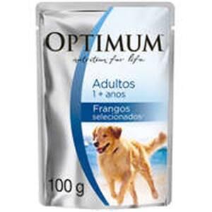 Ração Úmida para Cães Optimum Frango 100g