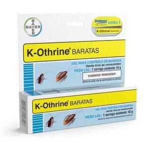 Inseticida Bayer K-Othrine Barata Embalagem 10g