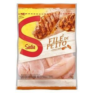 Frango Filé Peito Sadia Pacote 1kg