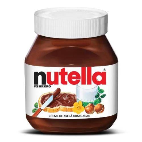 Creme  de Avelã  Nutella  650 g   1.0 Unidade