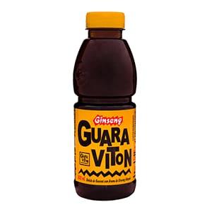 Refresco de Ginseng  Guaraviton  500 ml Caixa com 12.0 Unidades