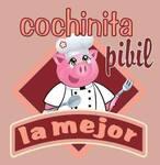 Logotipo Cochinita Pibil La Mejor Zapata