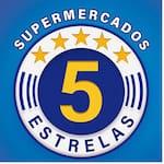 Logotipo Supermercados 5 Estrelas