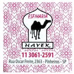 Logotipo Esfiharia Hayek