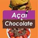 Logotipo Açai & Chocolate