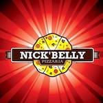 Logotipo Pizzaria Nick Belly