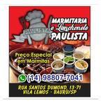Logotipo Marmitaria & Lanchonete Paulista
