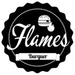 Logotipo Flames Burger