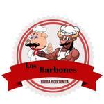 Logotipo Los Barbones Birria y Cochinita