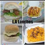 Logotipo L.a Lanches