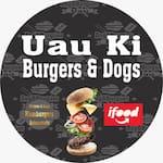 Logotipo Uau Ki Burgers & Dogs