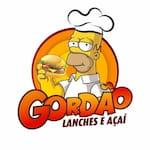 Logotipo Gordao Lanches e Açaí