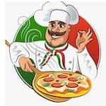 Logotipo Rafabely Pizzas e Hambúrguer