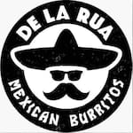 Logotipo De la Rua Mexican Burritos
