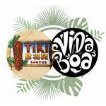 Logotipo Tiki Bar Vida Boa