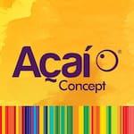 Logotipo Açaí Concept - Hiper Antares