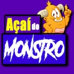 Logotipo Açaí do M´onstro