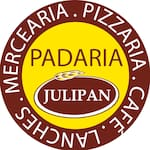 Logotipo Julipan Pão Pizza e Mercearia