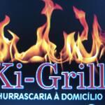 Logotipo Churrasco e Refeições Ki Grill