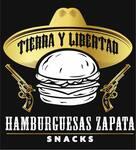Logotipo Hamburguesas & Alitas Zapata