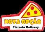 Logotipo Pizzaria Nova Opção