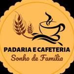 Logotipo Padaria e Cafeteria Sonho de Familia