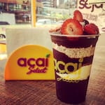 Logotipo Açai Select