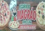 Logotipo Pizzaria do Magrao