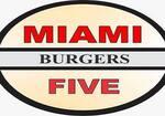 Logotipo Miami Five Burgers