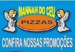 Logotipo Pizzaria Mannah do Céu