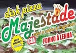 Logotipo Majestade Pizzaria