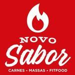 Logotipo A Novo Sabor Churrascaria