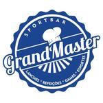 Logotipo Grandmaster Lanches e Refeições