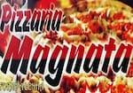 Logotipo Pizzaria Magnata