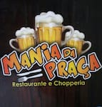 Logotipo Bar e Restaurante Mania da Praça