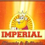 Logotipo Imperial Pizzaria e Esfiharia