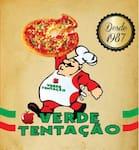 Logotipo Pizzaria Verde Tentação