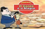Logotipo Pizzaria o Gordo e o Magro