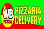 Logotipo Wb Pizzaria Delivery