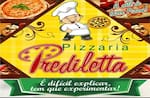 Logotipo Pizzaria Predileta