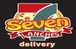 Logotipo Seven Pizzas