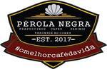 Logotipo Pérola Negra Café