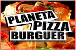 Logotipo Planeta Pizza Burguer - São Lucas