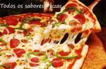 Logotipo Todos Sabores Pizzas