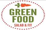 Logotipo Green Food Salad & Fit Downtown