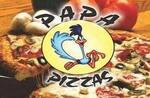 Logotipo Papa Pizzas