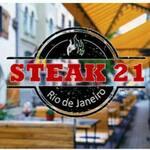 Logotipo Steak 21
